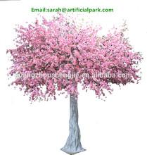 china guangzhou shengjie/artificial tree leaves/atificial cherry tree garden decoration