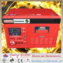 Water cooling, 4-stroke , Four Cylinder Natural Gas & Gasoline Generator