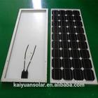 A-grade cell 55w solar panel price list