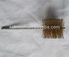 Brass wire flue brush