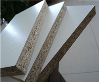 melamine particle board 2 sides white