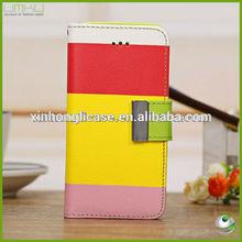 Flip Wallet Case Cover for iPhone 5C,Mix Color PU Leather Case for iPhone 5S/5C,cheap case for iphone5s/5c