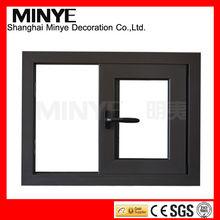 Double pane save room sliding aluminum window horizontal sliding window