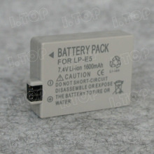 Camera Battery, Battery Pack for Can LP-E5, video camera battery