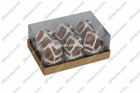 warm house shape telight candle set