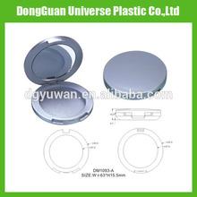 New design empty plastic cosmetic eyeshadow case