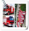 SINO 4*4 diecast model fire trucks,266Hp fire fighter eigine,antique metal fire truck