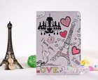 New Love Paris Tower PU Leather Stand Smart Case Cover For iPad Mini 1 2