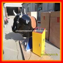 Kids amusement rides mini mechanical rides horse, cow available amusement kiddie rides kid's rodeo bull