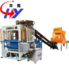 HY-QT4-25 manual concrete hollow block making machine