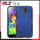 Rubberized mesh combo case for samsung galaxy s5