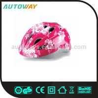 Custom Pink Lovely Bike Helmet