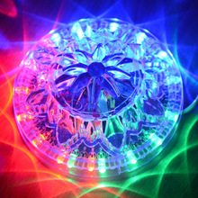 Hot selling RGB 48-LED Voice-Activated / Auto Rotating Party Stage LED Light