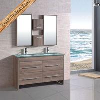 flat pack double sink bathroom prefab double sink vanity top vanity cabinet