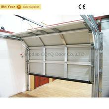Single Skin Steel Sectional Garage Door/Skin metal door