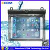 PVC/PC waterproof bag for ipad mini with compass