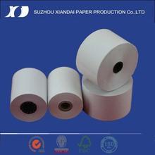 receipt thermal paper roll in cashier machine