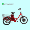 cargo tricycle with cabin with 36V 12Ah lead acid battery