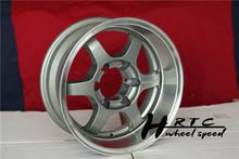 New!! 2014 new design 16 inch black American style Suv volk te37 wheel rim