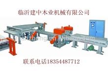 High precision automatic continuously adjustable longitudinal- transverse edge saw