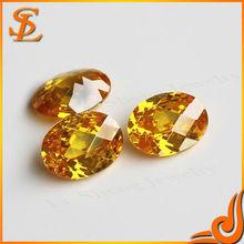 Brightness oval shape high quality loose diamond