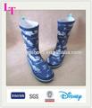 los niños baratos de lluvia botas de montar a caballo zapatos para la lluvia occidental para los niños