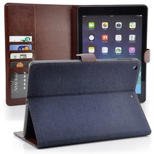 Stand Wallet Leather Case With Card Holder for iPad 2 3 4