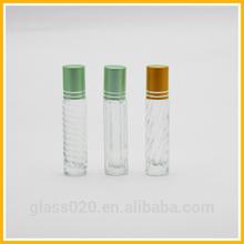 5ml/6ml/7ml/9ml hot sale cosmetic perfume glass roll on bottles