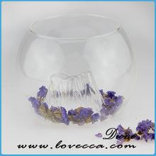 round glass bowl vase clear glass hanging vases Vintage Bottles Clear Glass Bottles