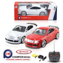 Full Function Radio Control Toy Car 1:16 Scale 4 Channel RC Diecast Car R19215