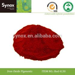 Pigment red 4130 for mastic asphalt
