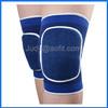 Wholesale elastic nylon fabric knee sleeve with sponge for sports