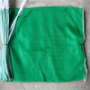 green polyester mesh drawstring bag for vegetable