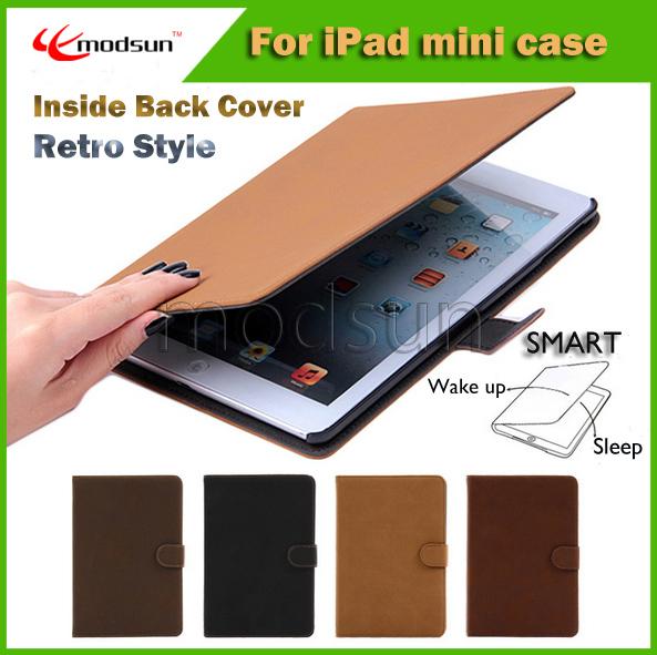 TPU For ipad 4 case,soft Smart for ipad Case Cover for iPad MINI