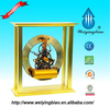 2014 New design skeleton table decorative clock