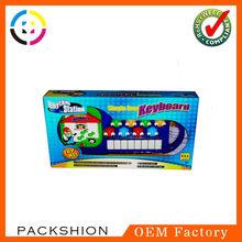 Popular Printed Paper Dolls Gift Box Packaging for Children