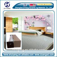 eco-solvent newspaper print wallpaper fort digital printing