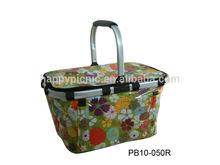 Outdoor waterproof cooler bag / picnic bag with handle