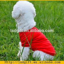 Best quality cheap plain pet dog clothes