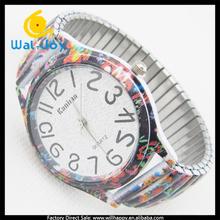 big number ladies fancy bracelet wrist watch lady (WJ-1458-14)