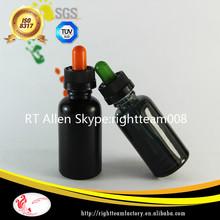 glass black bottle wholesale child resistant e liquids label shrink wrap In Stock!