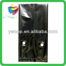 Yiwu custom LDPE black tree planting plastic bags