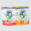 stand up zip lock food plastic packaging bags