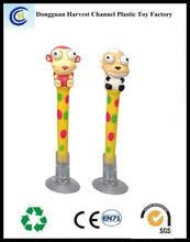 lovely style best sale animal plastic ballpen