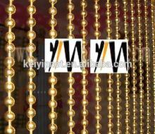 Decorative metal beaded curtain metal ball chain curtains