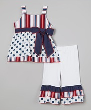 New 2 Piece Tank Top & Polka Dot Short Set- Baby Girl-6T Sizes Available!