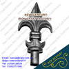 aluminium die casting spear heads / steel casting spear points / cast iron finial for iron steel gate fence and staircase models