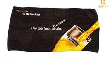 Cotone Velour Black Reactive printed usa towel manufacturers