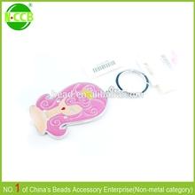 lovely live animal key chain ,cartoon character key chain