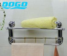 Wholesale Suction Cup Bathroom Towel Rails Shelf Rack /Towel Holder Bar